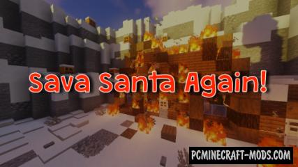 Save Santa Again! - Adventure Map For Minecraft