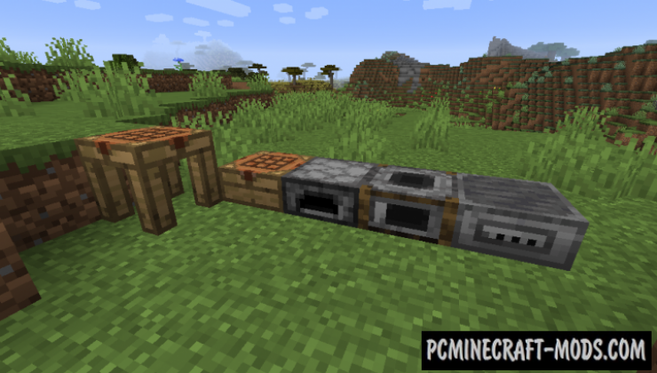Improved Stations - New Blocks Mod For MC 1.16.5, 1.16.4