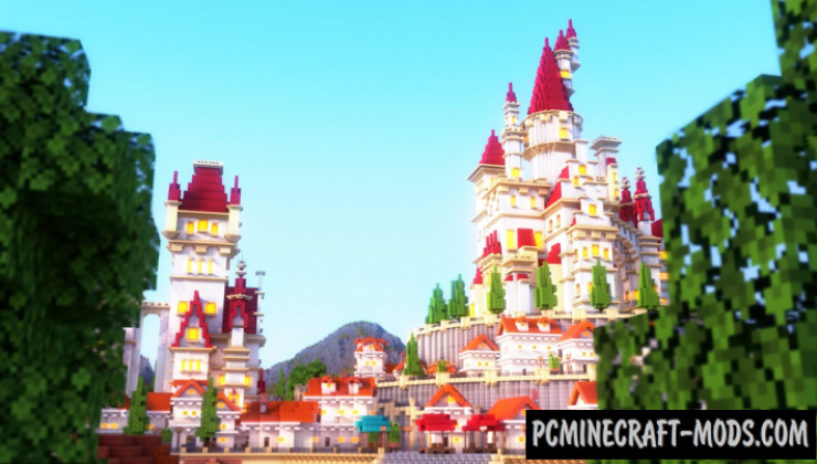 Beautiful Kingdom - Castle Map For Minecraft