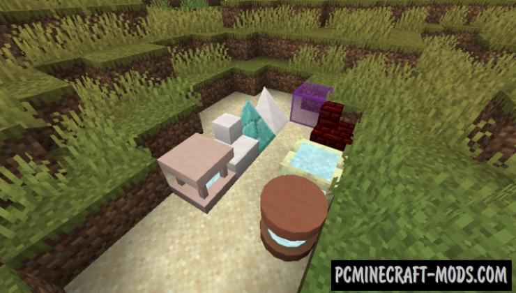 Exotic Blocks - Decor Mod For Minecraft 1.17.1, 1.16.5, 1.16.4