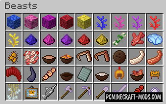 Beasts - New Creatures Mod For Minecraft 1.12.2