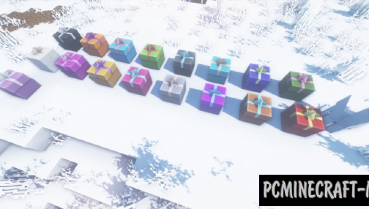Just Upgrade It: Christmas Edition Resource Pack MC 1.14.4