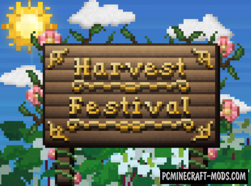 Harvest Festival Legacy - Farm Mod For Minecraft 1.12.2