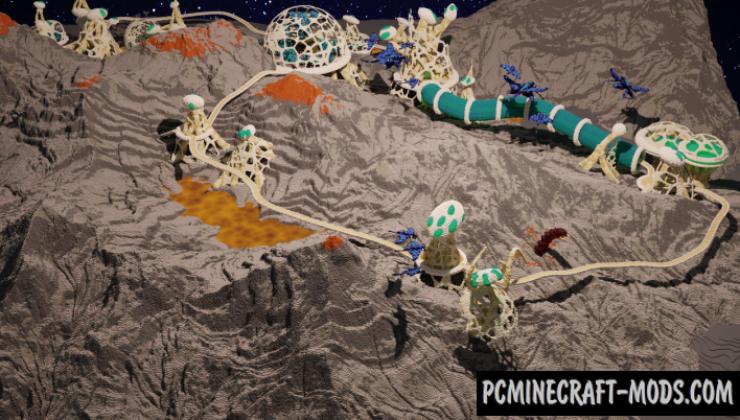 Bio City - Custom Terrain Map For Minecraft