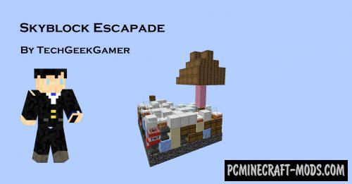 SkyBlock Escapade - Adventure Map For Minecraft