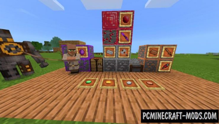 Bedrock inSanity - Ores Expansion MCPE Addon 1.17, 1.16