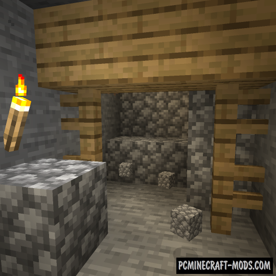 Cave Collapse Data Pack For Minecraft 1.15.1, 1.15