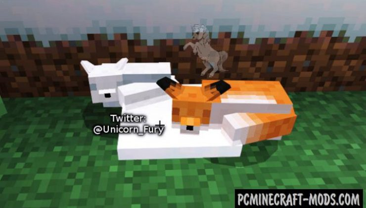 Cuter Vanilla Foxes Addon For Minecraft Bedrock 1.17, 1.16