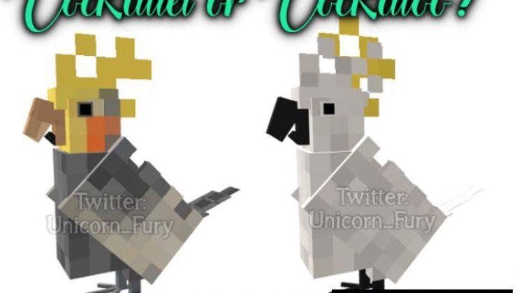 Cuter Vanilla Parrots Addon For Minecraft PE 1.17, 1.16