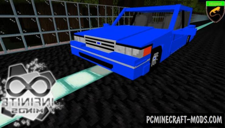 Ford Crown - Vehicle Addon For Minecraft PE 1.17, 1.16