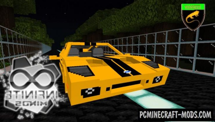 Ford GT - Vehicle Addon For Minecraft PE 1.17, 1.16