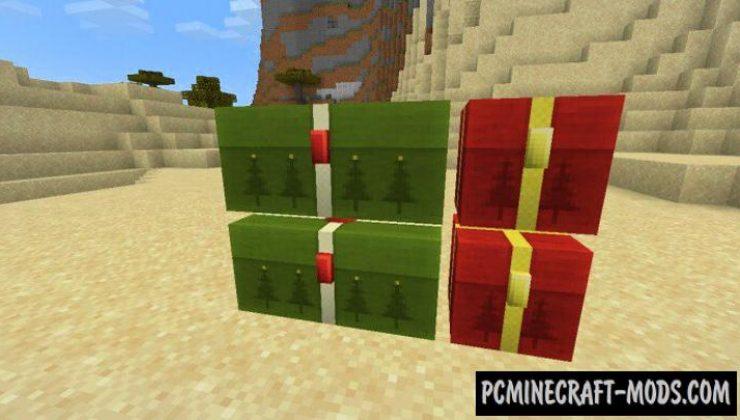 Insane Expansion - Christmas Packs MCPE 1.17. 1.16 Addon