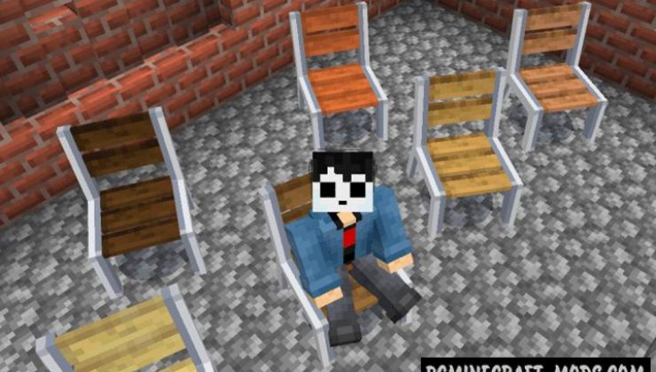 Just Chairs Addon For Minecraft Bedrock 1.17 iOS-Android
