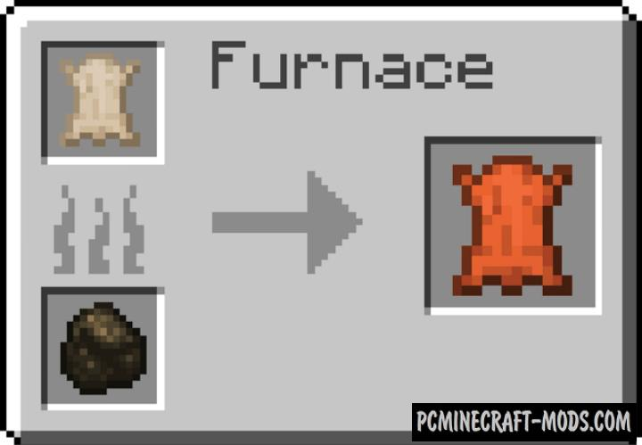Leather Healing Addon For Minecraft PE 1.17, 1.16