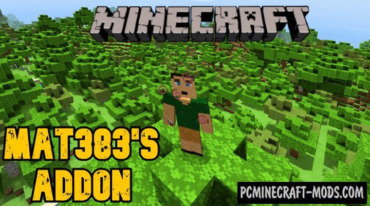 Mat383's Mat383 Addon For Minecraft Bedrock 1.16, 1.14