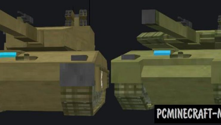 Modern Warfare: Battle Tanks Addon For MCPE 1.17, 1.16
