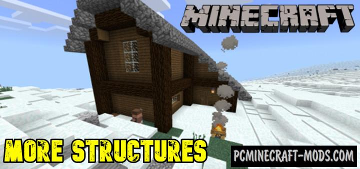 More Structures Addon For Minecraft PE 1.17, 1.16 iOS/Android