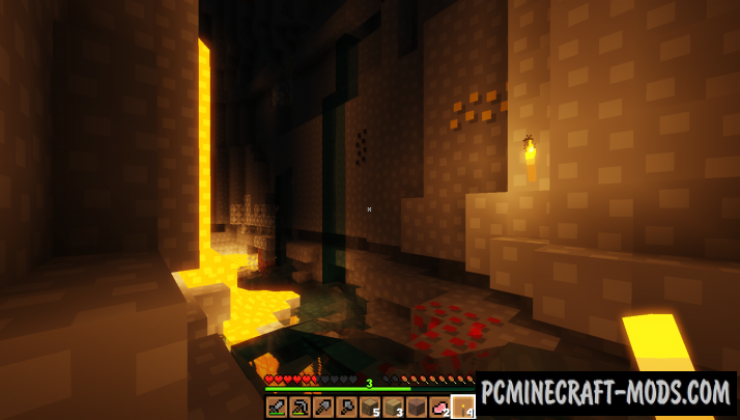 Digs' Simple 16x Resource Pack For Minecraft 1.16.3, 1.16.2