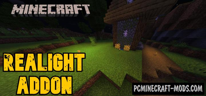 Realight Addon For Minecraft Bedrock 1.16 iOS/Android