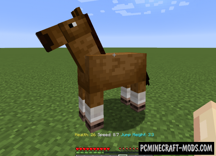 Horse Stats - HUD Mod For Minecraft 1.16.3, 1.15.2, 1.14.4