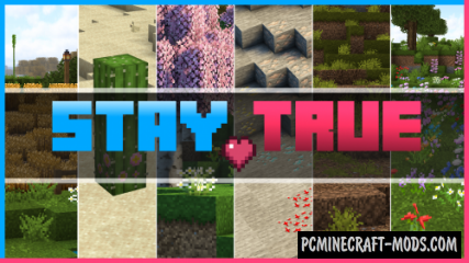 Stay True 16x Resource Pack For Minecraft 1.15, 1.14.4