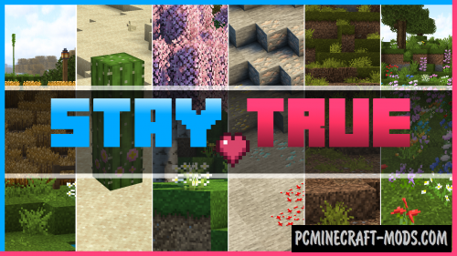 Stay True 16x Resource Pack For Minecraft 1.16.5, 1.16.4