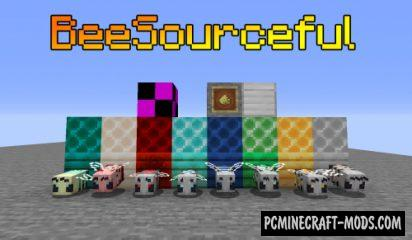 BeeSourceful - Creatures, Farm Mod For Minecraft 1.15.1