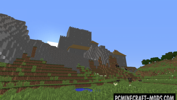Chocolate Quest Repoured - Adv Mod For Minecraft 1.12.2