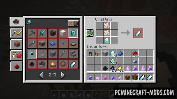 Potions Master - Magic Mod Minecraft 1.16.4, 1.14.4