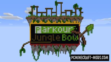 Parkour Jungle Bow - Parkour Map For Minecraft