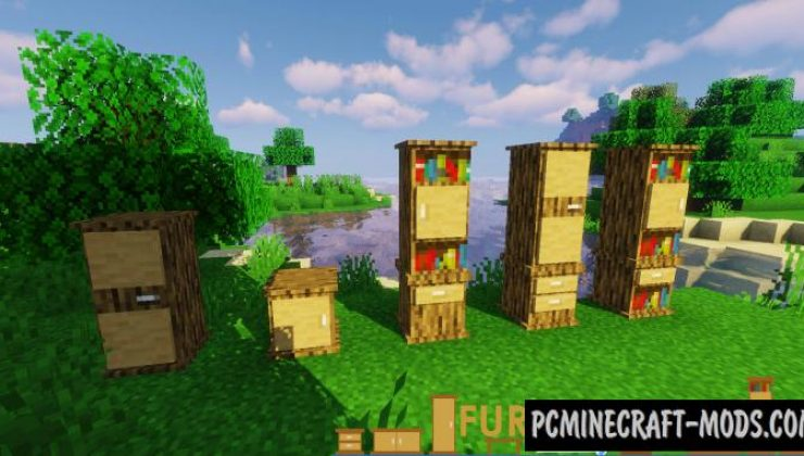 Macaw's - Furniture Mod For Minecraft 1.15.2, 1.14.4