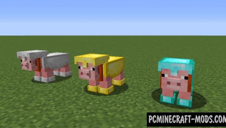 Pig Army - Creatures Mod For Minecraft 1.12.2