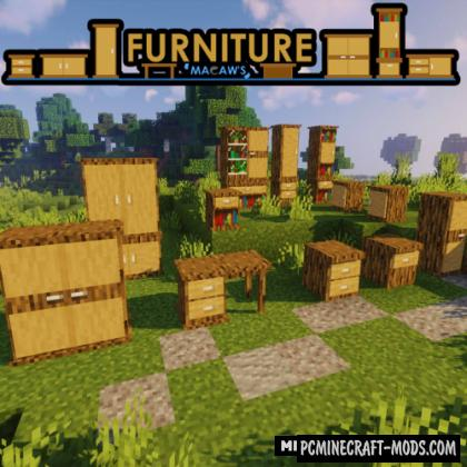 Macaw's - Furniture Mod For Minecraft 1.16.4, 1.14.4, 1.12.2