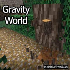 GravityWorld - Tweak Mod For Minecraft 1.16.1, 1.15.2, 1.14.4