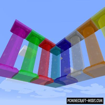 Corail Pillar - Quark & Botania - Decor Mod For MC 1.14.4