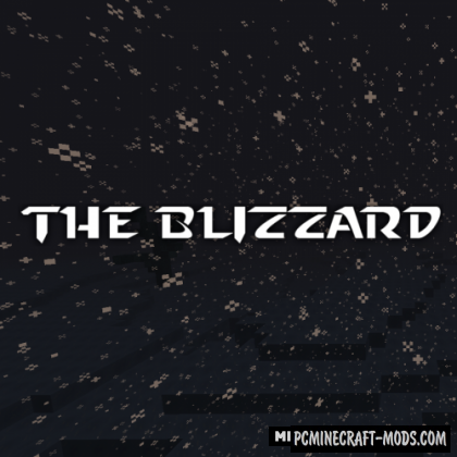The Blizzard - New Dimension Mod For Minecraft 1.12.2