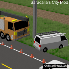 Saracalia's City - Decor Mod For Minecraft 1.12.2