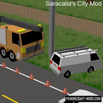 Saracalia's City - Decor Mod For Minecraft 1.12.2