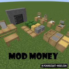Money - New Decor Blocks Mod For Minecraft 1.12.2