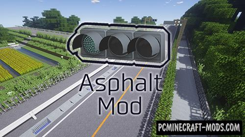 Asphalt - Decorative Blocks Mod For Minecraft 1.12.2