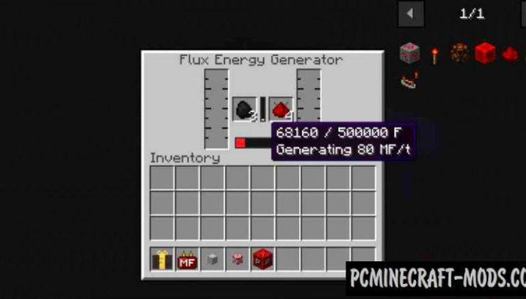 Flux MF Energy - Technology Mod For Minecraft 1.15.1
