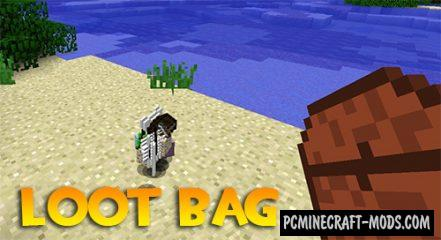 Loot Bag - Adventure Mod For Minecraft 1.16.5, 1.16.4, 1.12.2