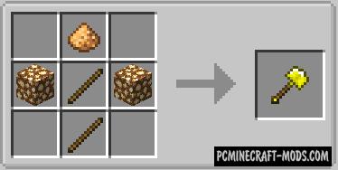 Vanilla Excavators - New Tool Mod For Minecraft 1.16.5, 1.16.4