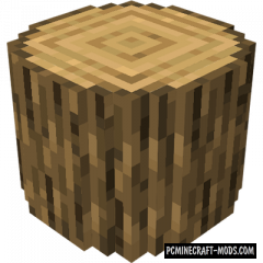 Round Trees Texture Pack For Minecraft 1.16.5, 1.16.4, 1.15.2
