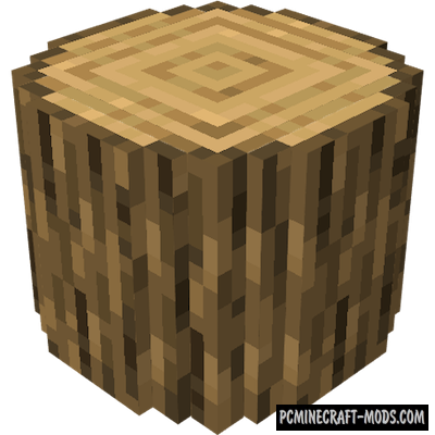 Round Trees Resource Pack For Minecraft 1.16, 1.15.2