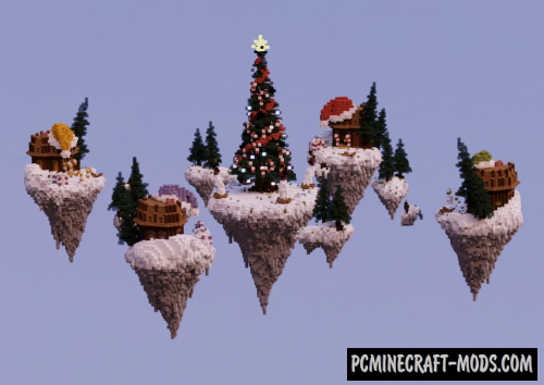 BedWars Christmas - PvP, Minigame Map For Minecraft