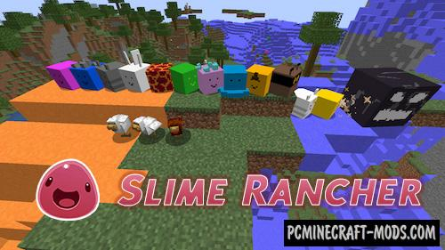 Slime Rancher - New Dimension Mod For Minecraft 1.14.4