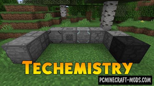 Techemistry - Technology Mod For Minecraft 1.16.3, 1.15.2