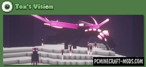 Tox's Vision Resource Pack For Minecraft 1.14.4