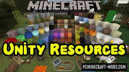 Unity Resource Pack For Minecraft 1.15.1, 1.14.4